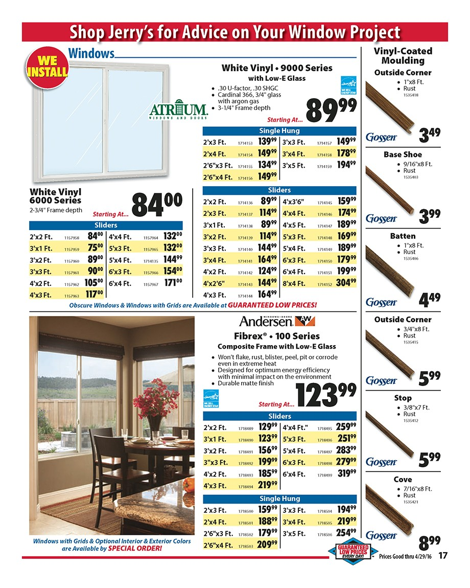 Weekly Ad Jerry S Home Improvement